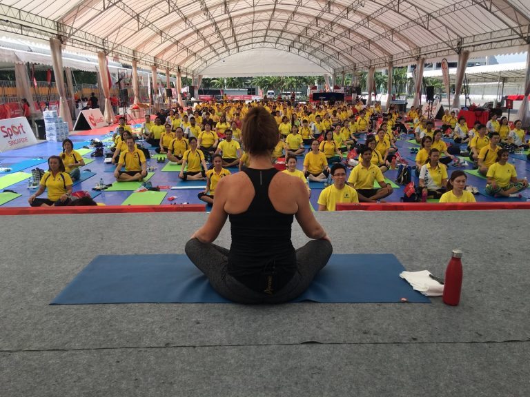 Mass Fitness Class in Singapore