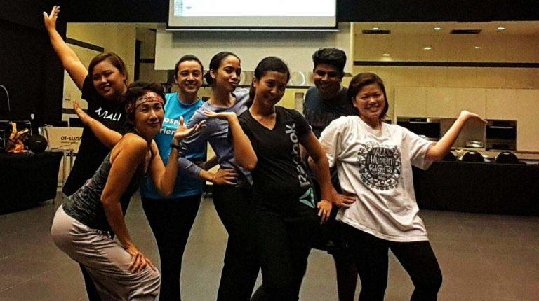Zumba instructor in Singapore